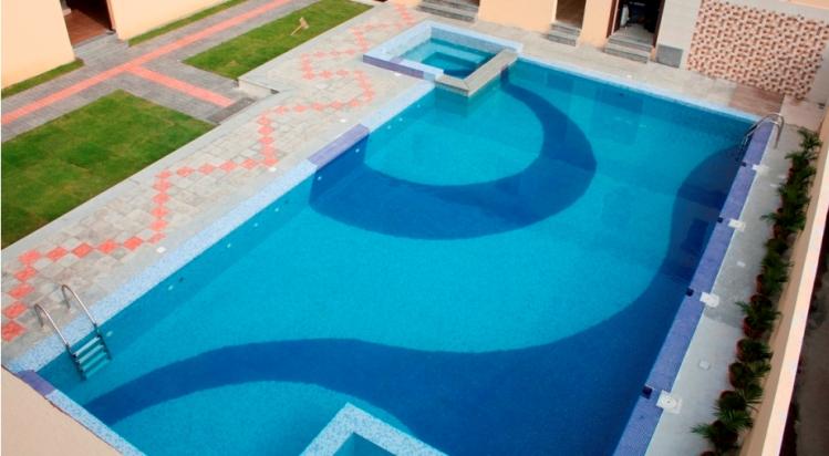 Anutri beach resort photo album swimming pool kolahal travel guide for Resorts in santiniketan with swimming pool